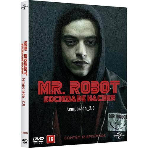 Box DVD Mr. Robot - Sociedade Hacker - 2ª Temporada