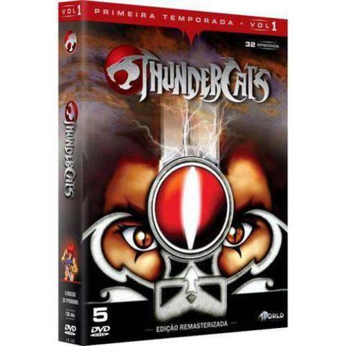Box DVD Thundercats Primeira Temporada Volume 1