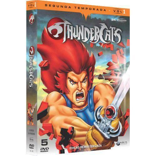 Box DVD Thundercats Segunda Temporada Volume 1