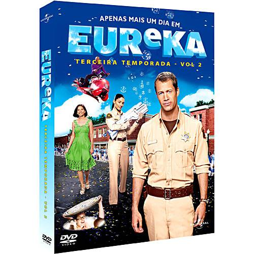 Box Eureka - 3ª Temporada - 3 DVDs