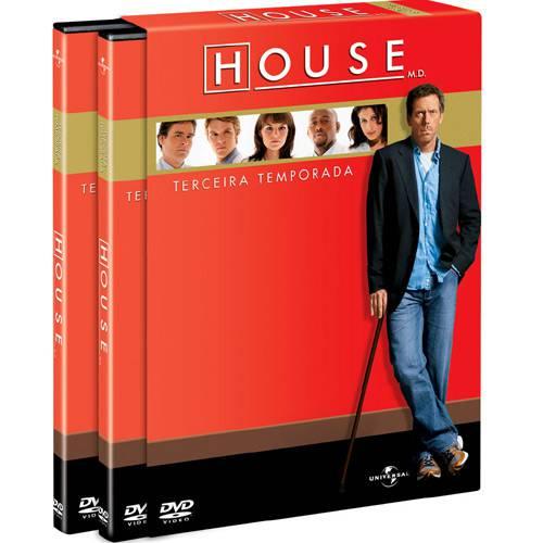 Box House 3ª Temporada (6 DVDs)