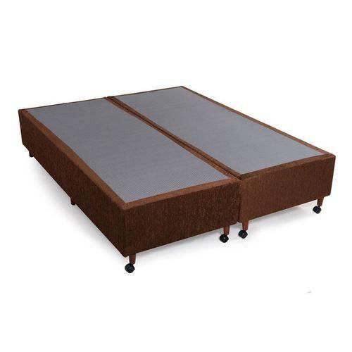 Box Luxo Rústico Chocolate Queen (158x198x25)