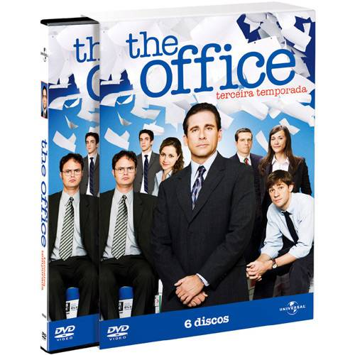 Box The Office 3ª Temporada (4 DVDs)