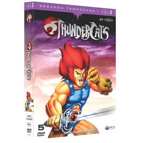 Box Thundercats - 2ª Temporada - Vol. 2