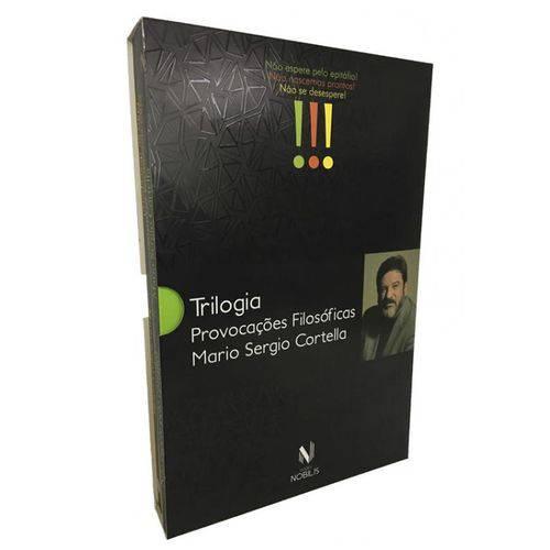 Box - Trilogia Provocacoes Filosoficas - 03 Vols