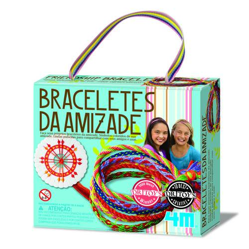 Braceletes da Amizade - Brinquedo Educativo - 4m