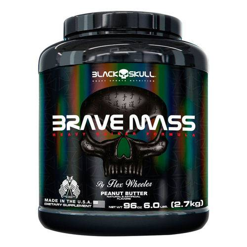 Brave Mass 2,7kg Chocolate - Black Skull