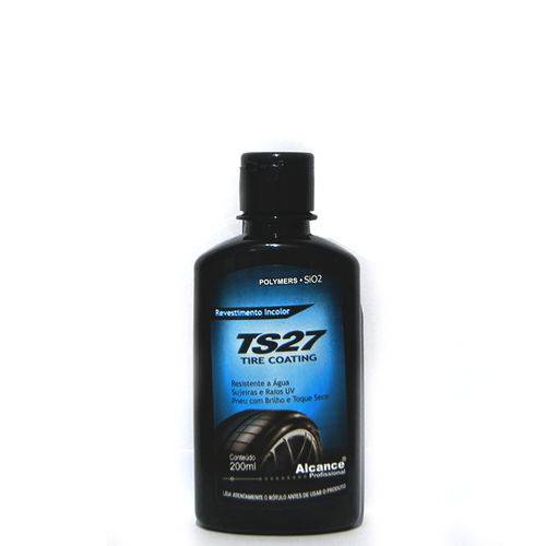 Brilha Pneu Ts27 Tire Coating Alcance 200ml