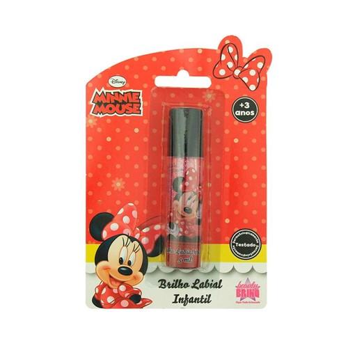Brilho Labial Disney Infantil Glitter Minnie