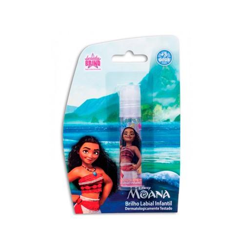 Brilho Labial Disney Infantil Glitter Moana