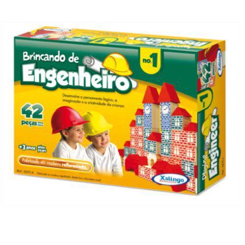 Brincando de Engenheiro 42 Peças 5275.4 - Xalingo