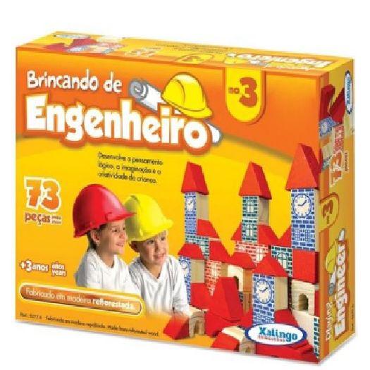 Brincando de Engenheiro 73 Peças 52776 Xalingo