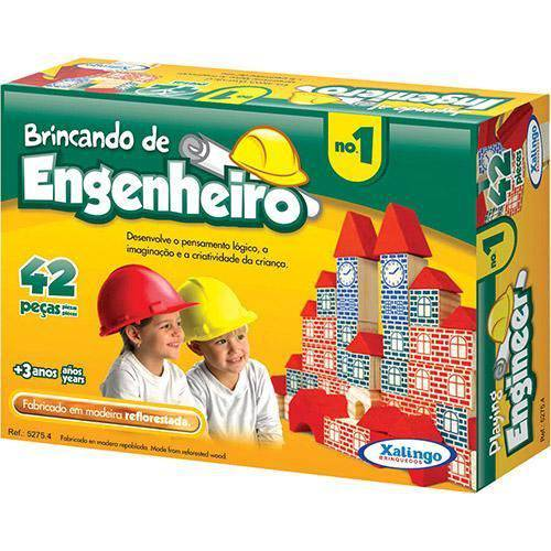 Brincando de Engenheiro no 1 Xalingo Brinquedos