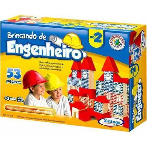 Brincando de Engenheiro no 2 Xalingo Brinquedos
