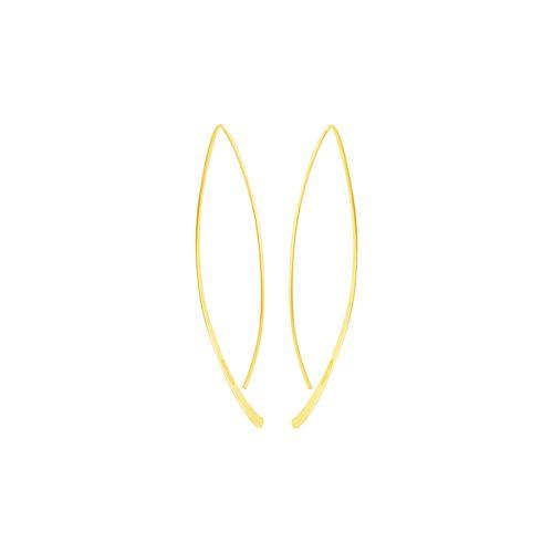 Brinco em Ouro 18K Fio Navete - AU5227