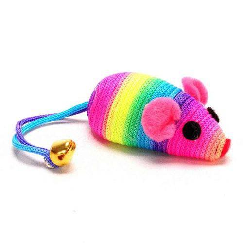 Brinquedo American Pets Ratinho Arco-íris