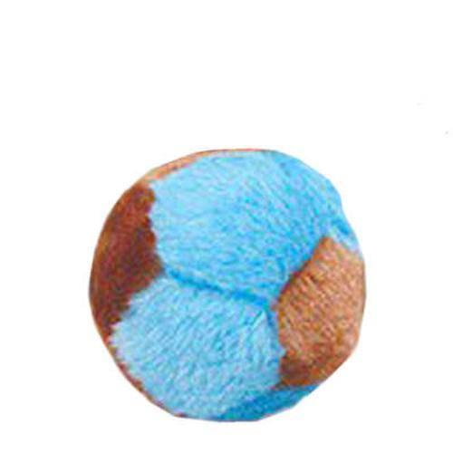 Brinquedo Chalesco Bola de Pelúcia para Cães