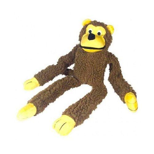 Brinquedo Chalesco Macaco de Pelúcia para Cães Unidade