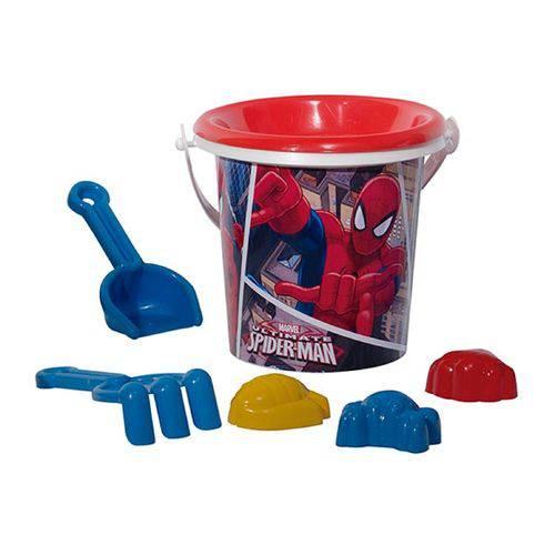 Brinquedo Conjunto de Praia do Homem Aranha com 7 Pecas - Ref 9726