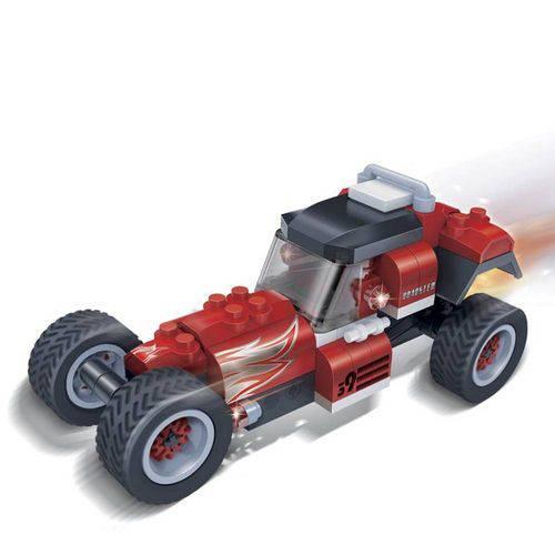 Brinquedo Corrida Carro Roadster 105 Peças 8619 - Banbao