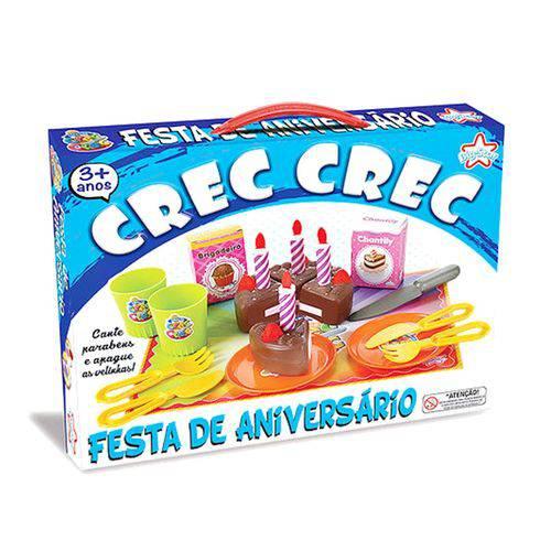Brinquedo Crec Crec Festa de Aniversário - Big Star 345-ccfa