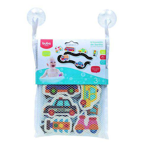 Brinquedo de Banho Carrinhos na Estrada - Buba 6705