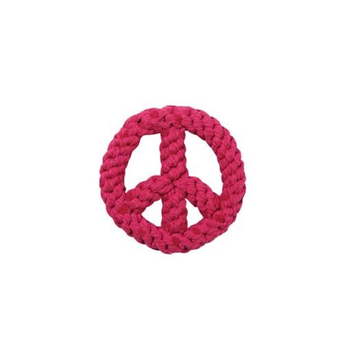 Brinquedo de Corda Peace Out Rosa