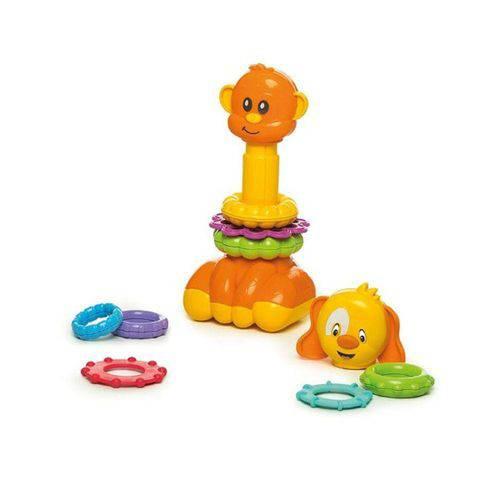 Brinquedo de Encaixe Zoo Argolas Calesita Ref 866
