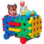 Brinquedo de Montar - Carro Baú Monte Play - Alpha Brinquedos