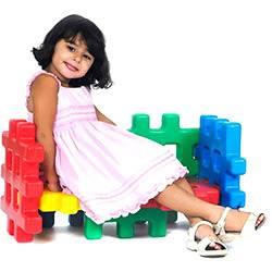 Brinquedo de Montar - Sofá Monte Play - Alpha Brinquedos