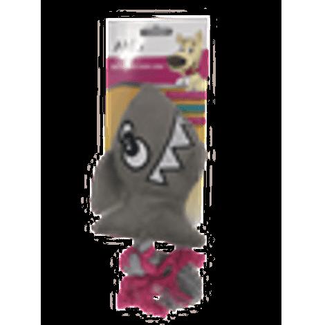 Brinquedo de Pelucia - Peixe Cinza com Corda - Akio