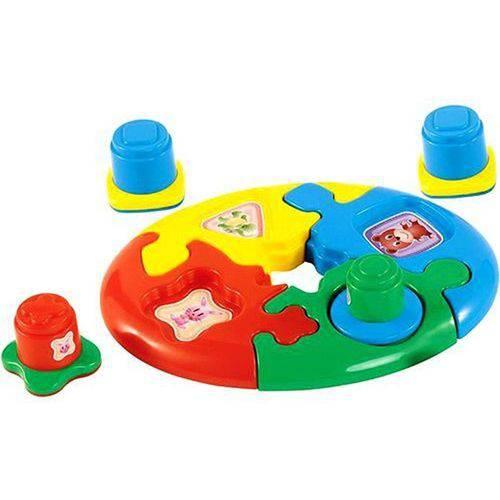 Brinquedo Duo Baby Puzzie - Calesita Ref 803