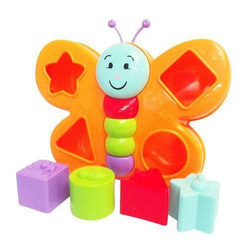 Brinquedo Educativo Borboleta Espoleta C/blocos