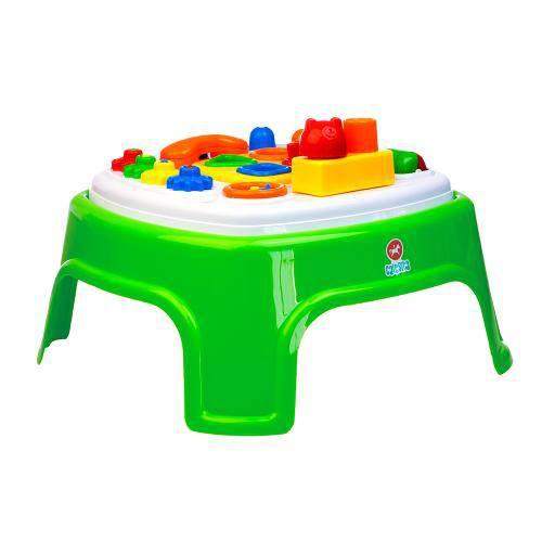 Brinquedo Educativo Mesinha Encantada Calesita Verde