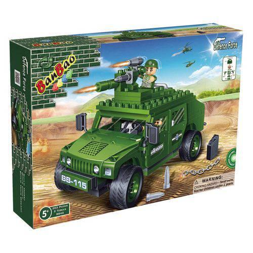 Brinquedo Força Tática Jeep Hammer 203 Peças 8842 - Banbao