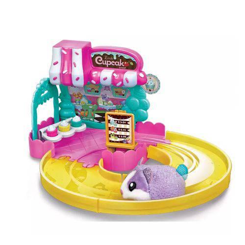 Brinquedo Hamster In a House Lojinha Cupcake - Candide