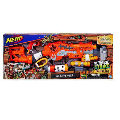 Brinquedo Hasbro Nerf Zombie Strike Scravenger - E1753