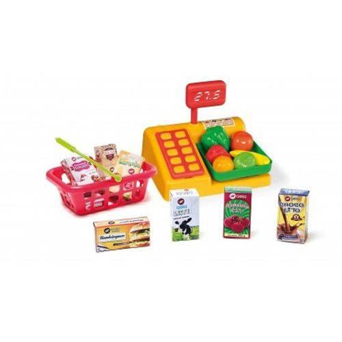 Brinquedo Kit Balança e Cesta de Compras Calesita 309