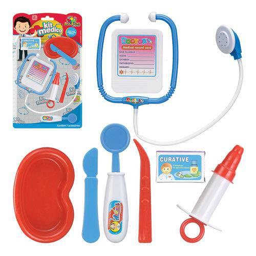 Brinquedo Kit Médico Enfermeiro Infantil 7 Peças