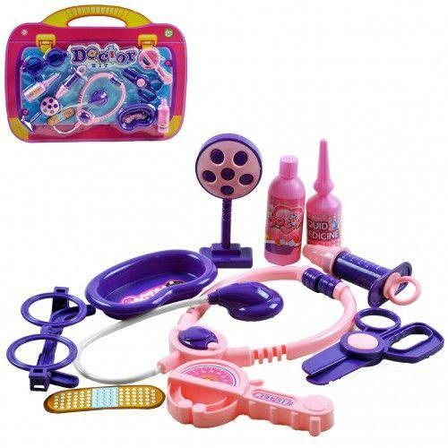 Brinquedo Kit Médico Enfermeiro Infantil 9 Peças