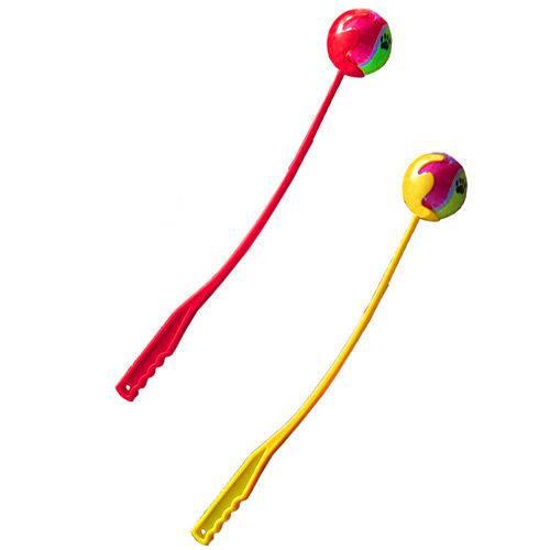 Brinquedo Lanceball C/ Arremessador - American Pets do Brasil Ltda