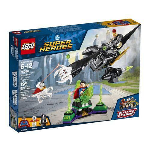 Brinquedo LEGO Super Heroes - Superman & Krypto - 76096