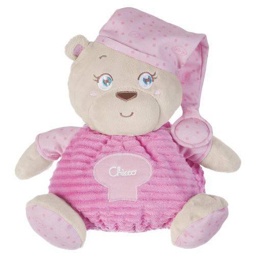 Brinquedo Mamãe Ursa Soft Cuddles Rosa