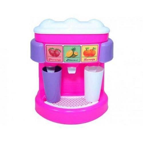 Brinquedo Maquina de Cafe e Suco Calesita Brincando de Casinha Ref.: 356