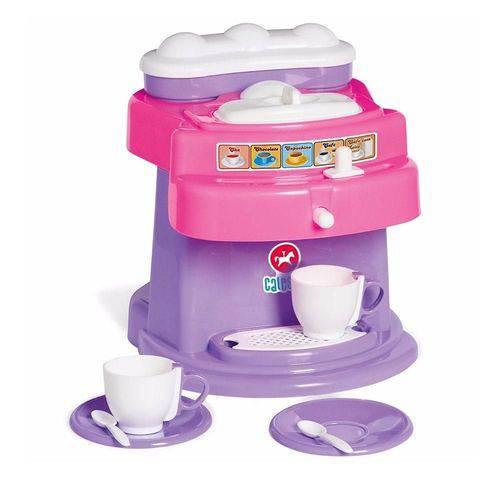 Brinquedo Máquina de Suco e Café - Calesita - Rosa/Roxo