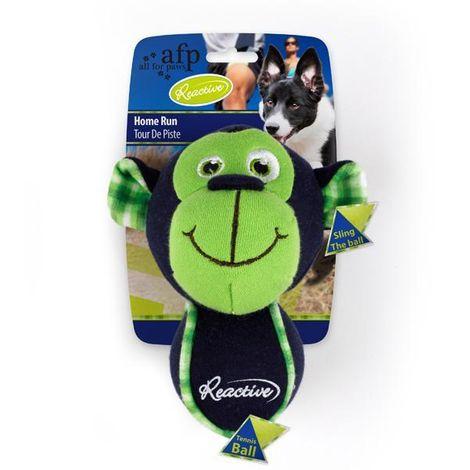 Brinquedo para Cachorro Home Run Reactive - Macaco - Afp