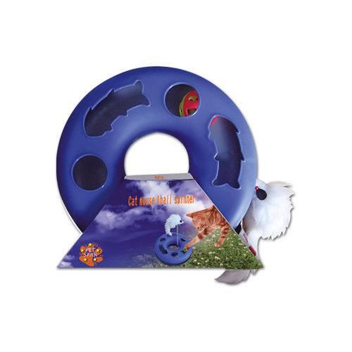 Brinquedo para Gatos Kitty Ball Azul Chalesco