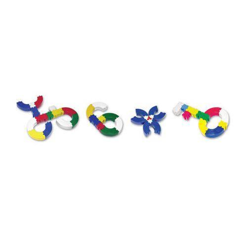Brinquedo para Montar Monta Facil 100 Pecas