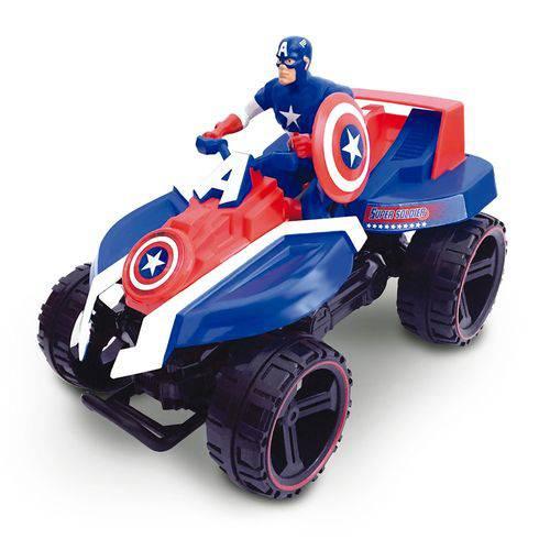 Brinquedo Quadriciclo de Fricção Toyng Marvel - Capitão America
