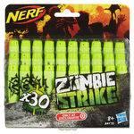 Brinquedo Refil Nerf Zombie 30 Dardos A4570 - Hasbro